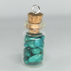 Magnesite Crystal Bottle Charm Necklace