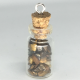 Tiger Eye Crystal Bottle Charm Necklace