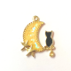 Cat and Moon Charm
