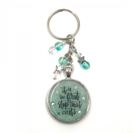 First Step Keychain