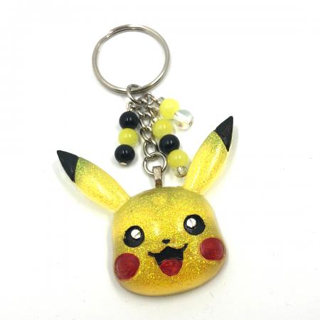 Yellow Pikachu Keychain