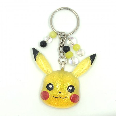 Yellow Smirk Pikachu