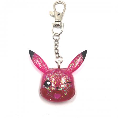 Pink Pikachu Keychain