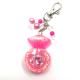 Pink Shaker Keychain